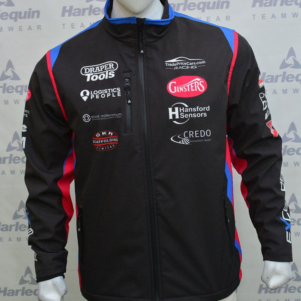 Excelr8 2021 Softshell Jacket (Blue & Red)