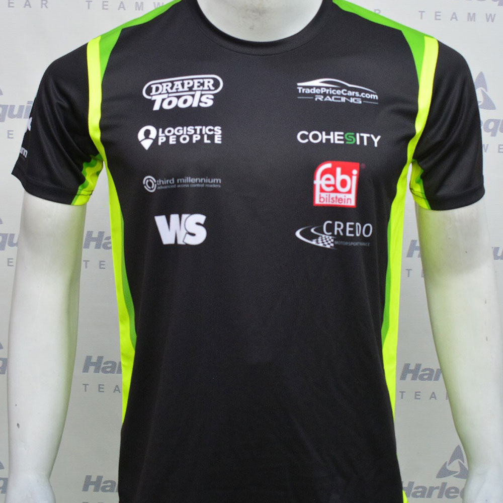 2021 Excelr8 TradePriceCars T-Shirt (Yellow & Green)