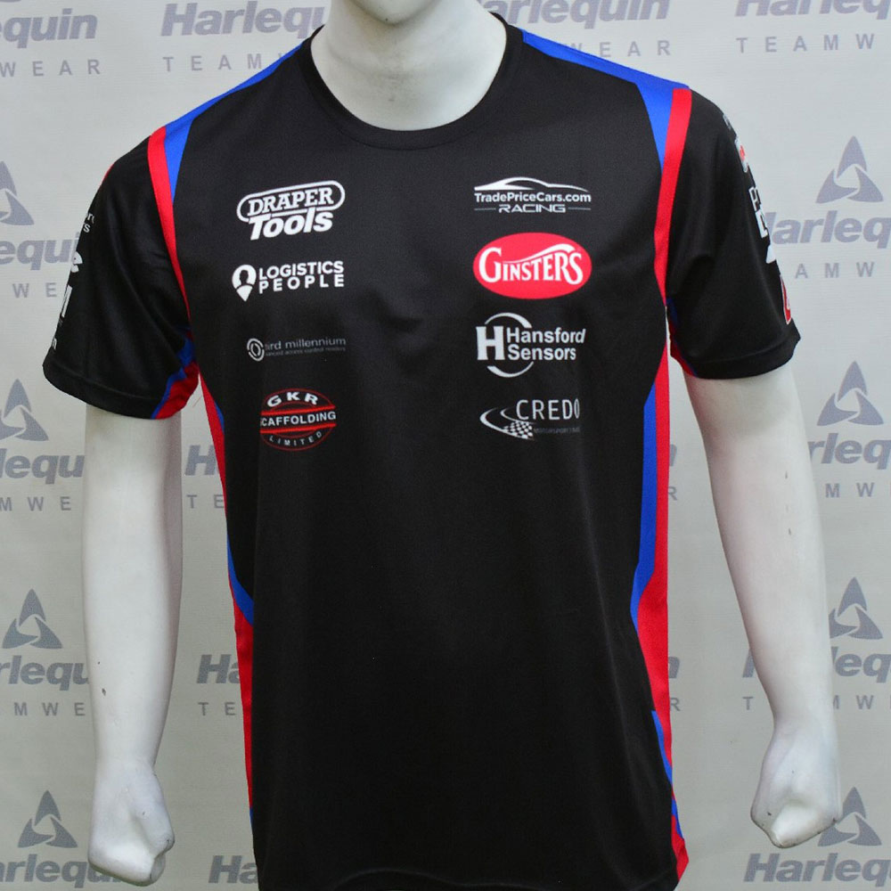 Excelr8 TradePriceCars 2021 T-Shirt (Blue & Red)