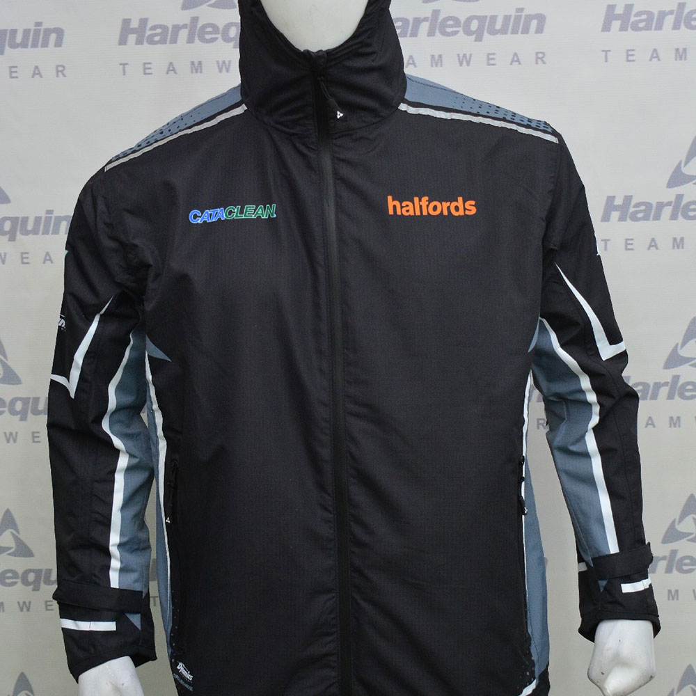 2021 Halfords Cataclean Racing Lightweight Waterproof Jacket