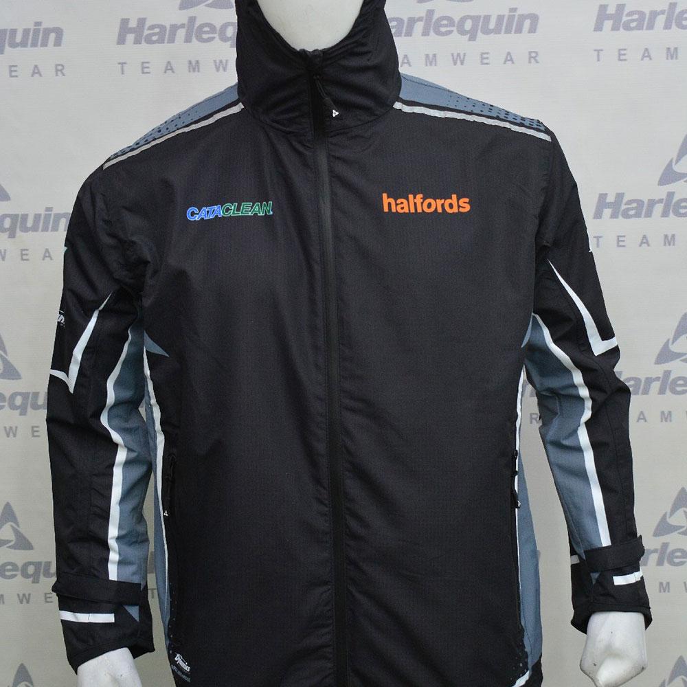 2021 Halfords Cataclean Racing Lightweight Waterproof Jacket
