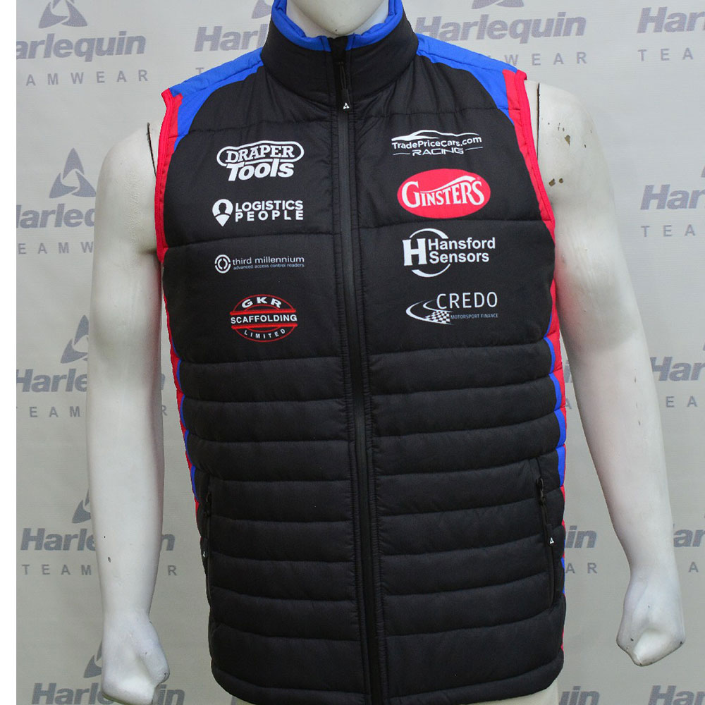 2021 Excelr8 TradePriceCars Gilet (Blue & Red)