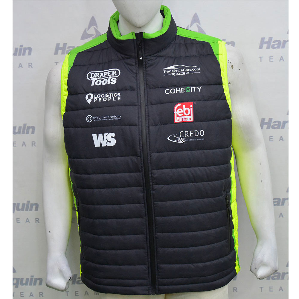 2021 Excelr8 TradePriceCars Gilet (Yellow & Green)