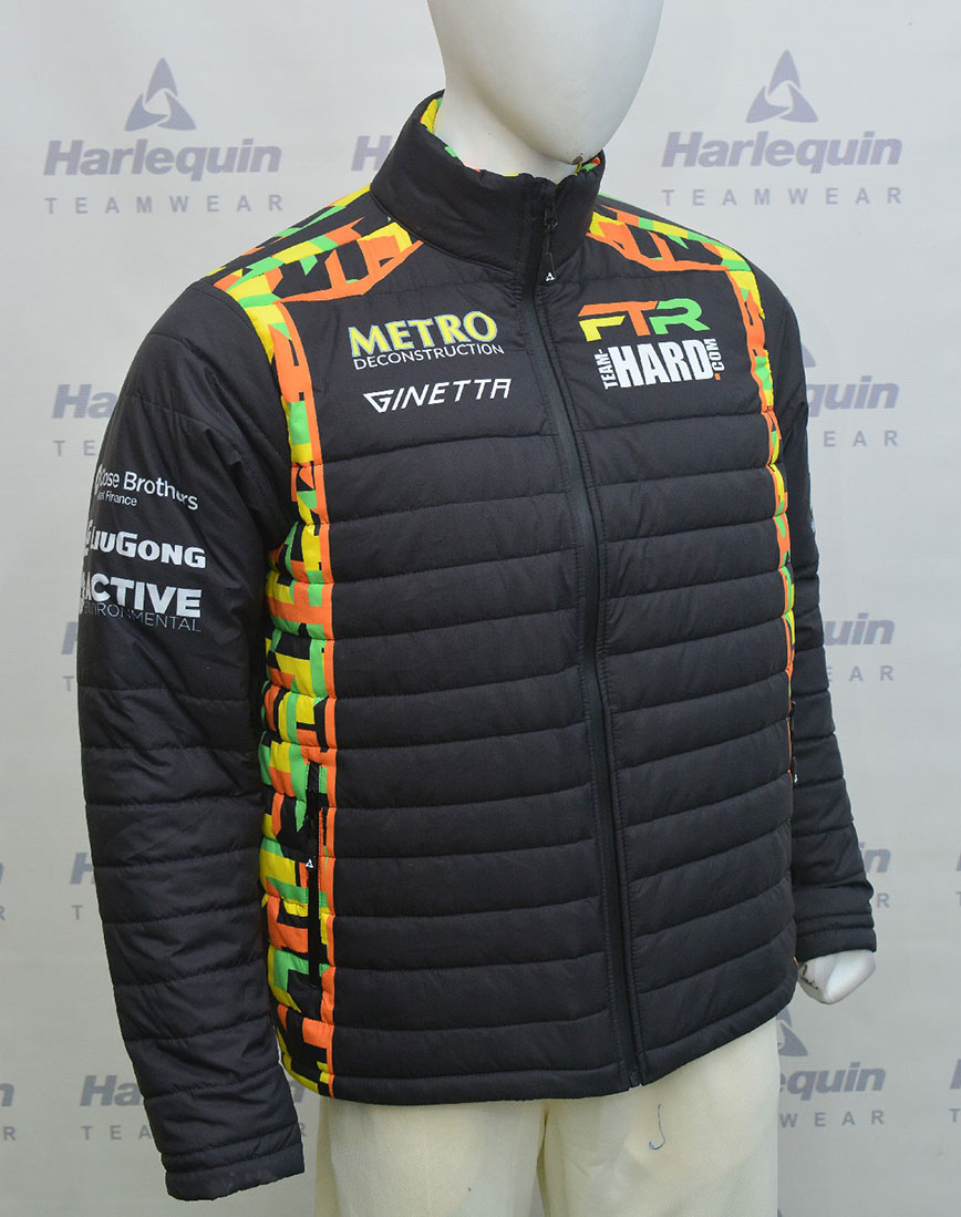 Sublimated Puffer Jackets